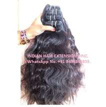 Indian Raw Hair Wavy Machine Weft Bundles